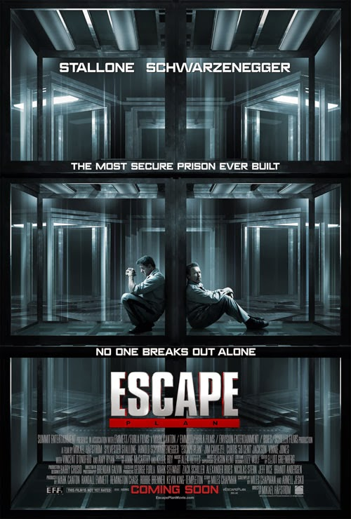 Escape Plan Poster Movie 2013