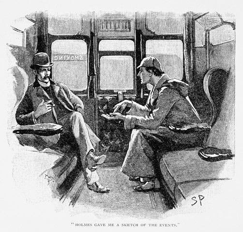 "AUDIO: Sherlock Holmes: ""The Night Before Christmas""!"