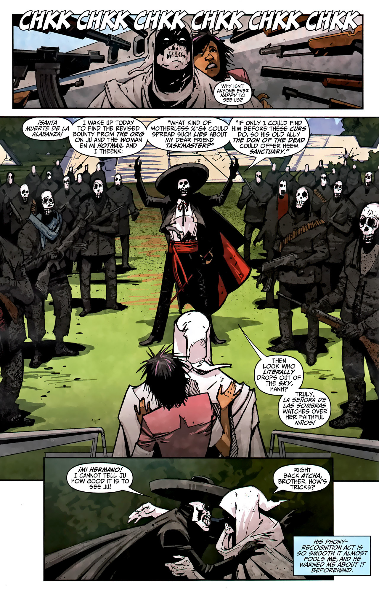 Read online Taskmaster (2010) comic -  Issue #2 - 11