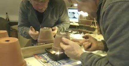 Ingeniando como hacer un calefactor con velas y macetas - Calefaccion con velas ...
