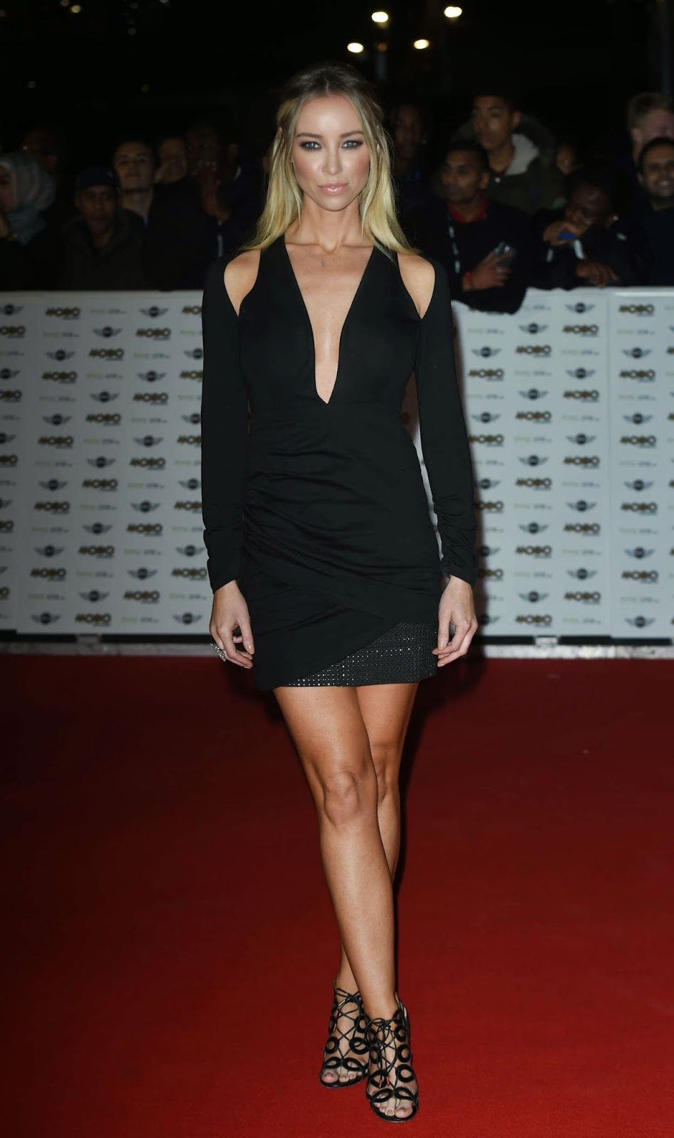 Lauren Pope – MOBO Awards in London