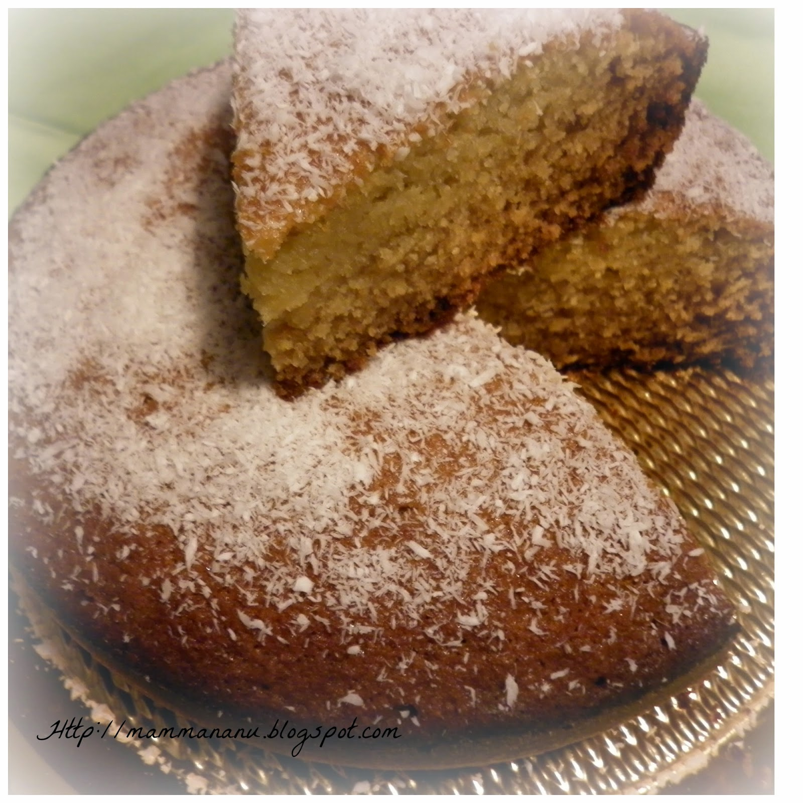 torta morbida al cocco