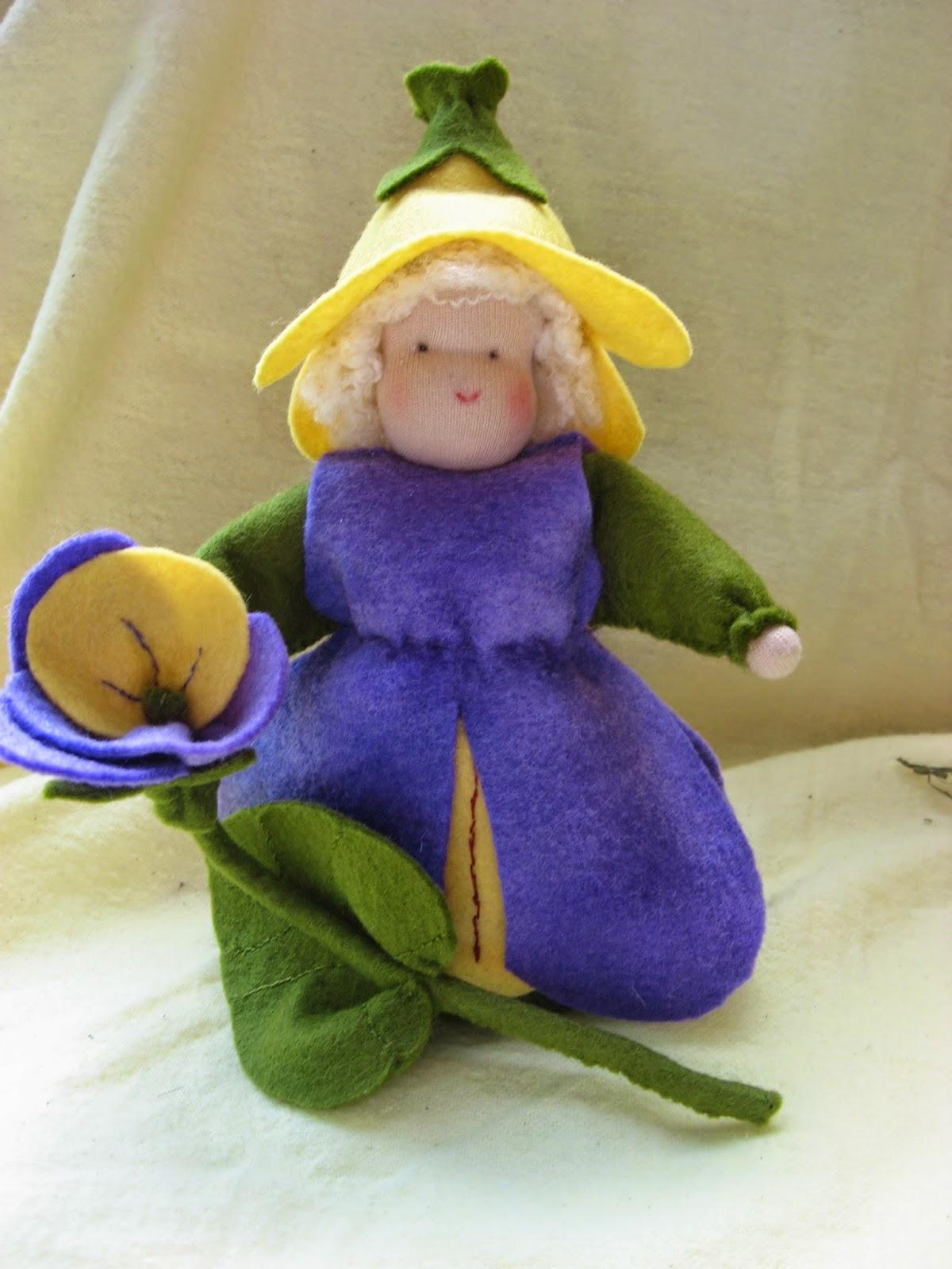 seizoentafel Mieke Stender viooltje