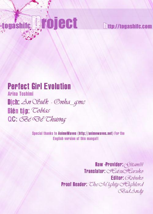 Perfect Girl Evolution chap 8 - Trang 1