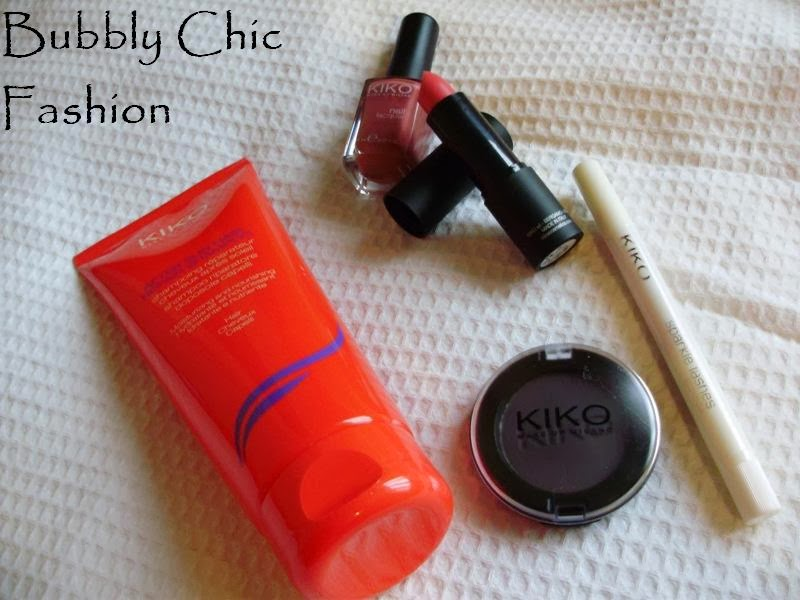 kiko kozmetika, kiko cosmetic, venecija, bubbly chic fashion, kiko eyeshadow 126, kiko after sun hair repair shampoo, sparkle lashes kiko mascara gold, kiko smart lipstick, kiko nail lacquer 365, ana petrin