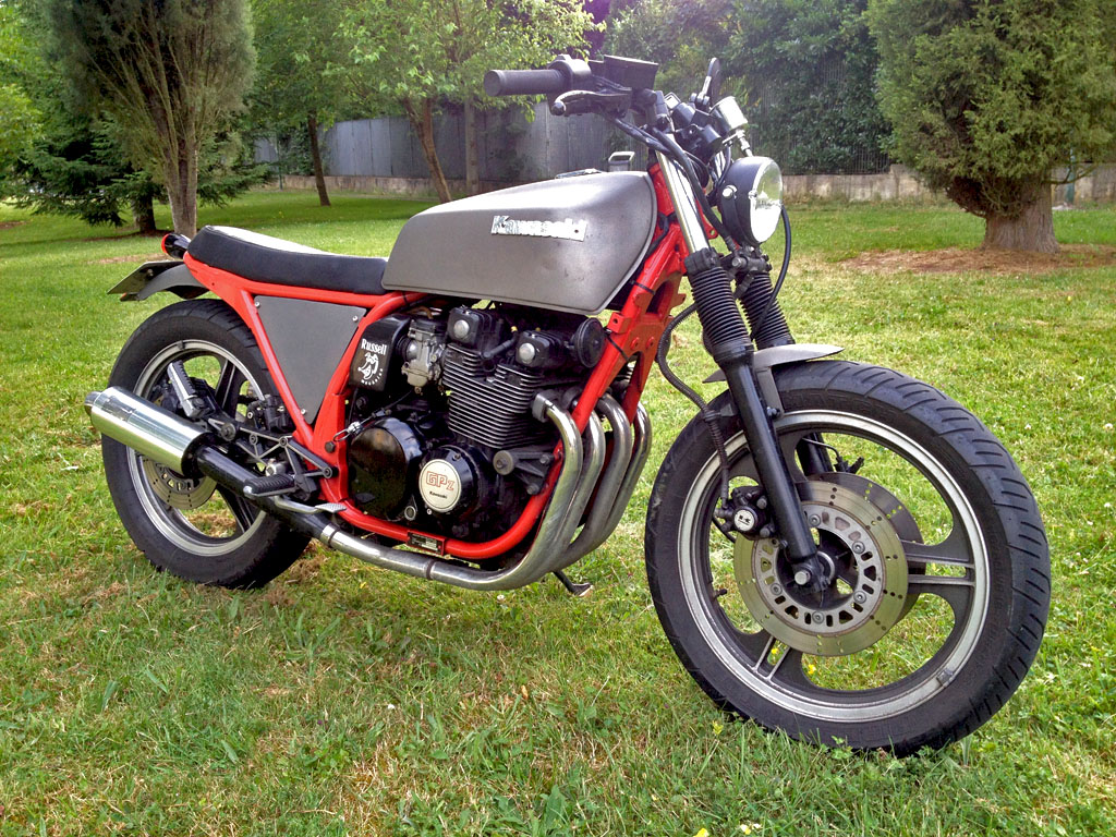 Planet Japan Blog: Kawasaki GPZ 400 R Limited 1987