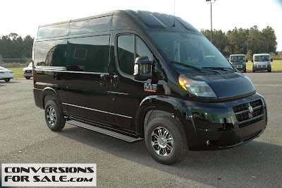 Ram Promaster Conversion Vans
