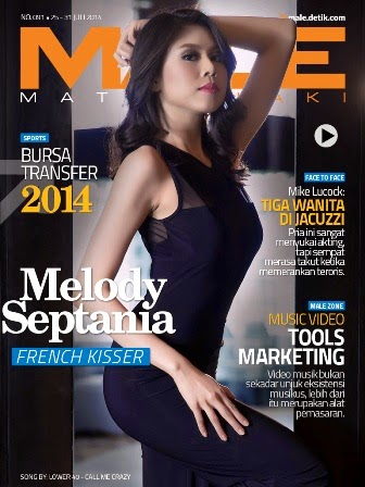 Download Gratis Majalah MALE Mata Lelaki Edisi 91 Cover Model Melody Septania | MALE Mata Lelaki 91 Indonesia | Cover MALE 91 Melody Septania| www.insight-zone.com