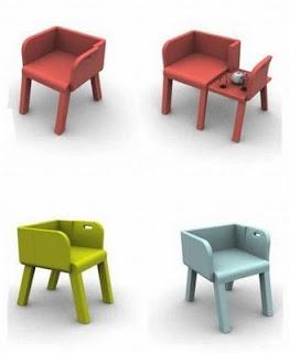 Berikut adalah desain-desain kursi yang unik :