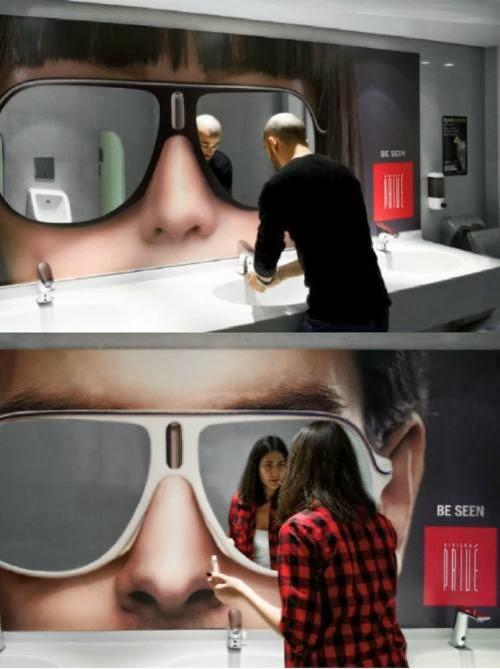 napszemüveg reklám