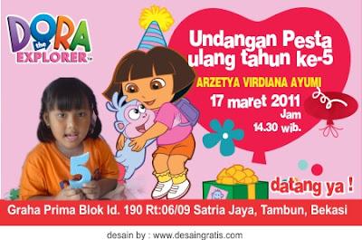 Contoh Surat Undangan Ulang Tahun Untuk Anak Bahasa Indonesia