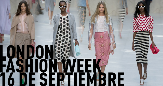 London Fashion Week 16 septiembre