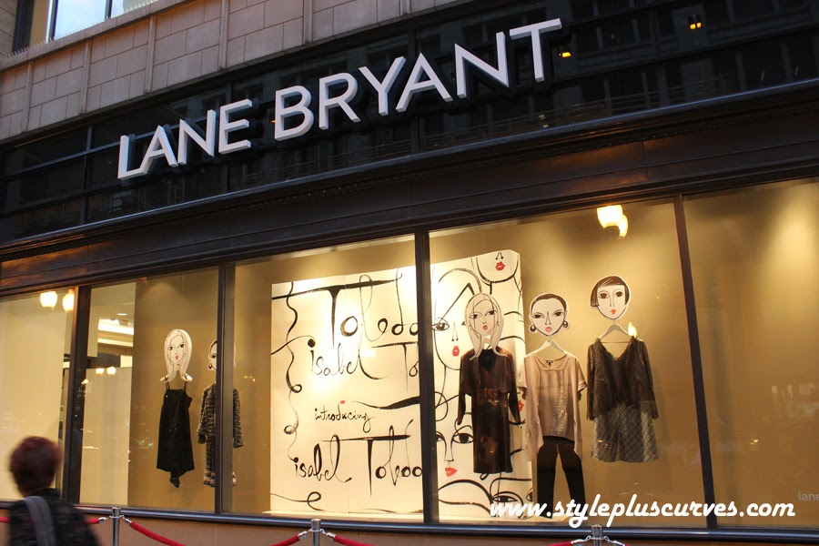 Isabel Toledo Window Display at Lane Bryant in Chicago