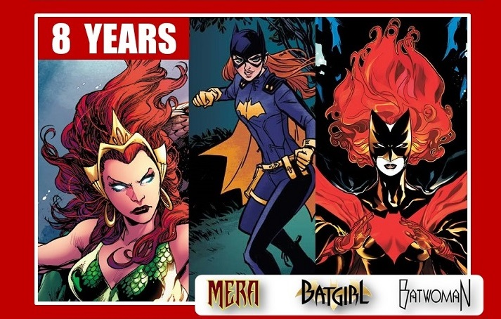 Batgirl - Mera - Batwoman