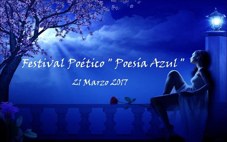 FESTIVAL POESIA AZUL