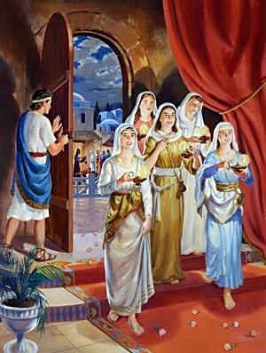 Resultado de imagem para As dez virgens (Mt 25.1-13) - Parábola