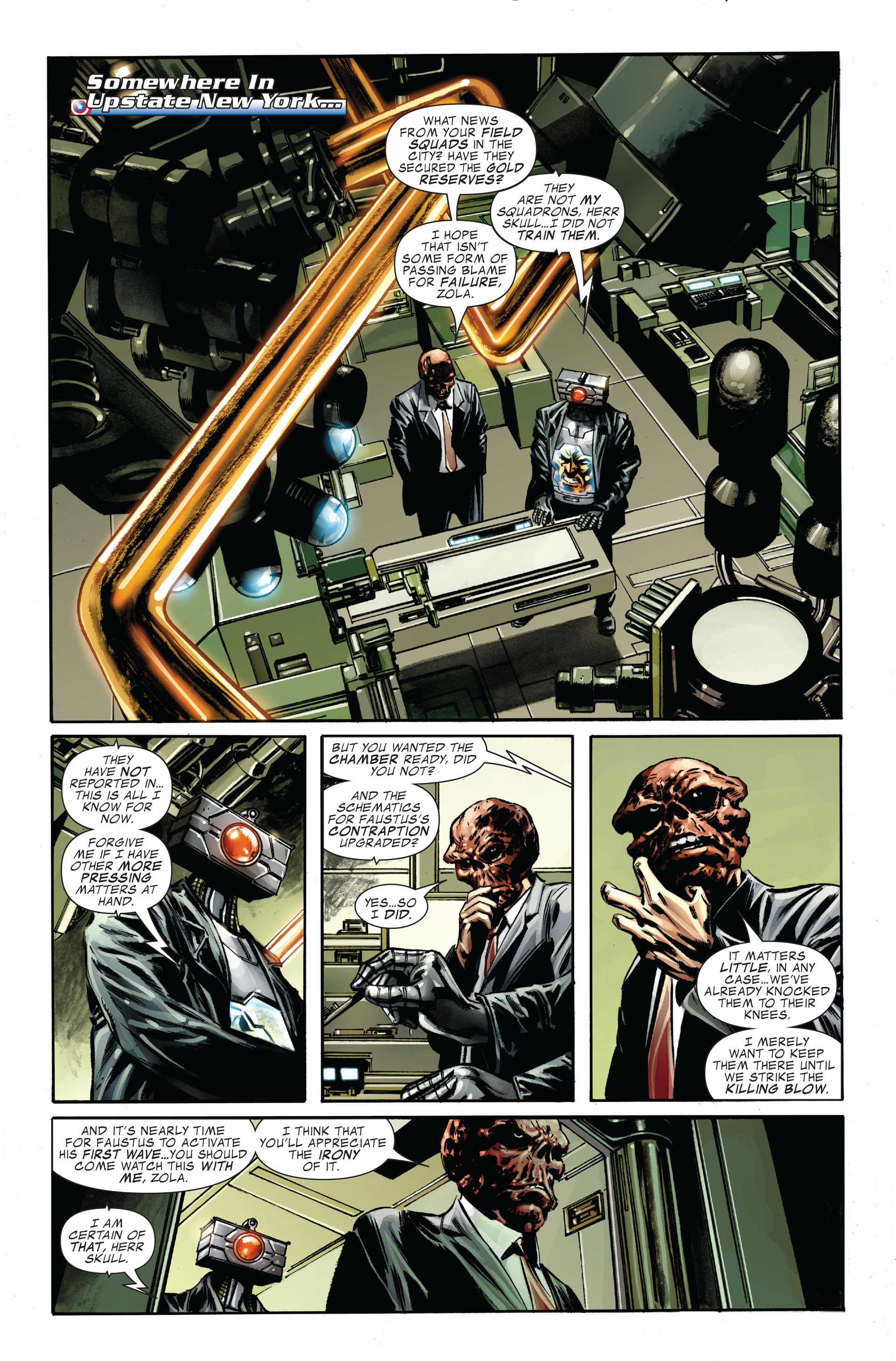 Captain America (2005) Issue #34 #34 - English 16