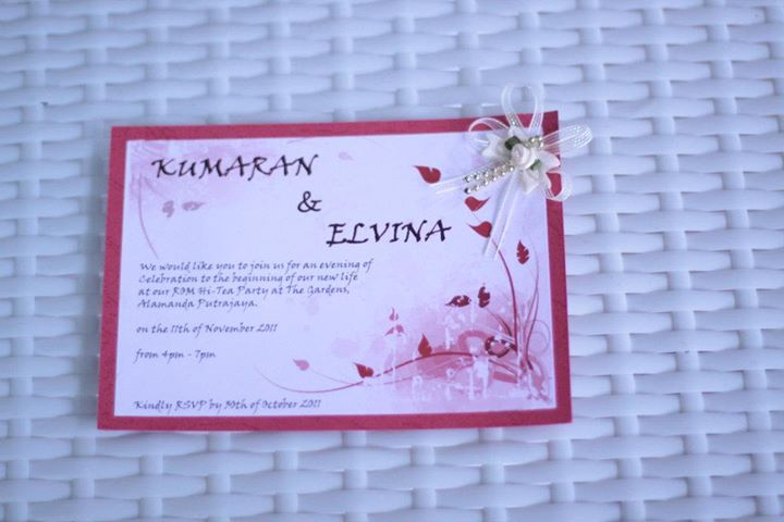Journalist2Jabber Celebrate your big day your way – Rom Invitation Card