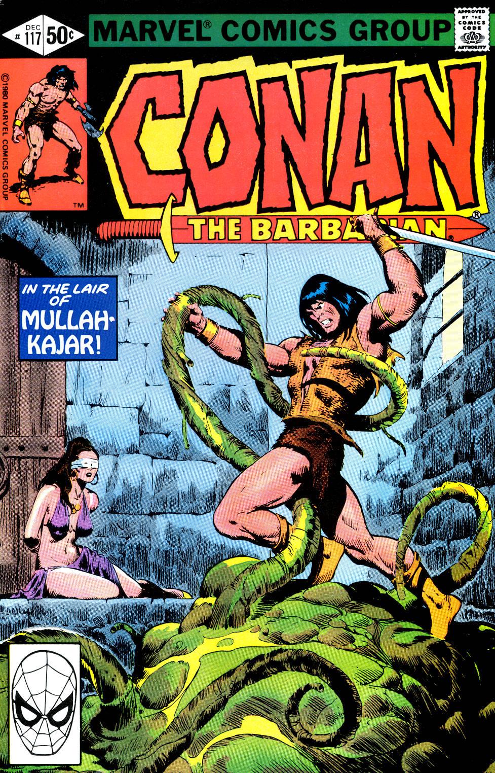 Conan the Barbarian (1970) Issue #117 #129 - English 1