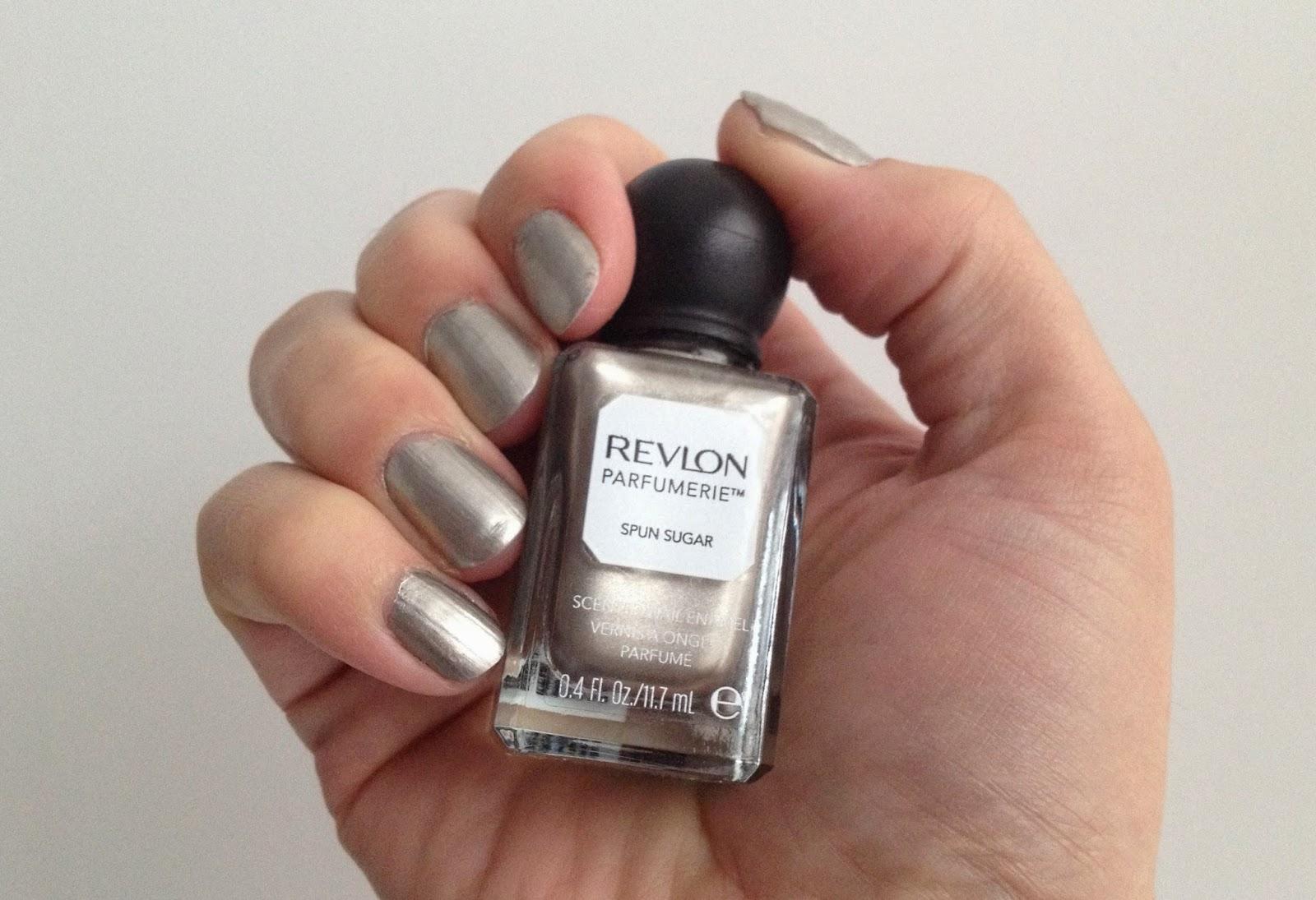 Revlon Parfumerie scented nail polish Spun Sugar