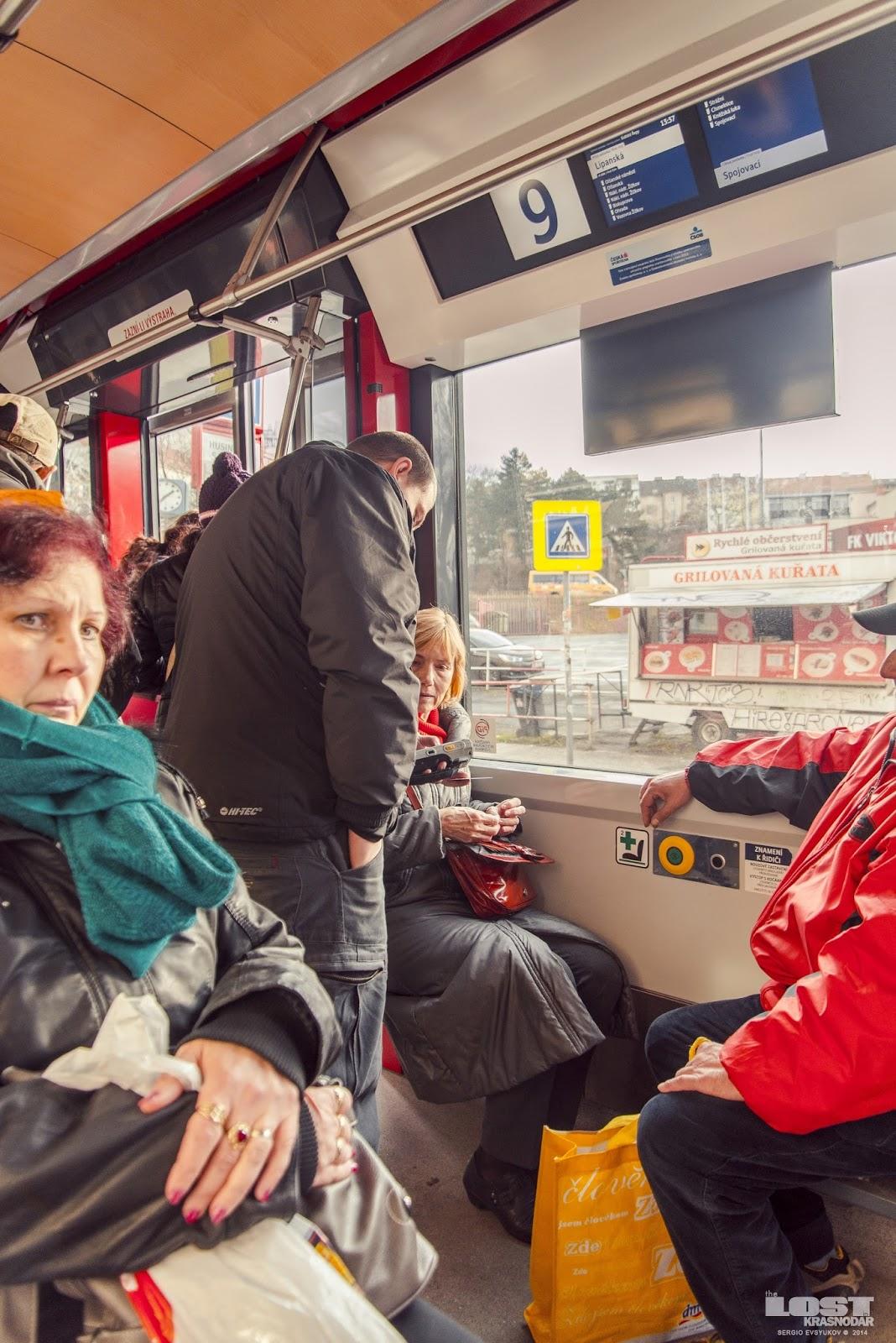 Безбилетники в Праге