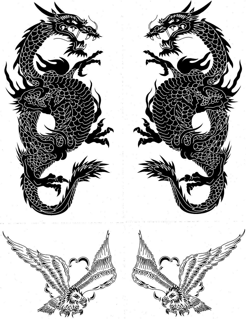 THE BLACK TATTOOS Dark Henna Tattoos