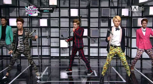 SHINee's M! Countdown comeback Dream Girl 130221
