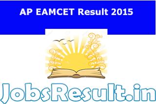 AP EAMCET Result 2015