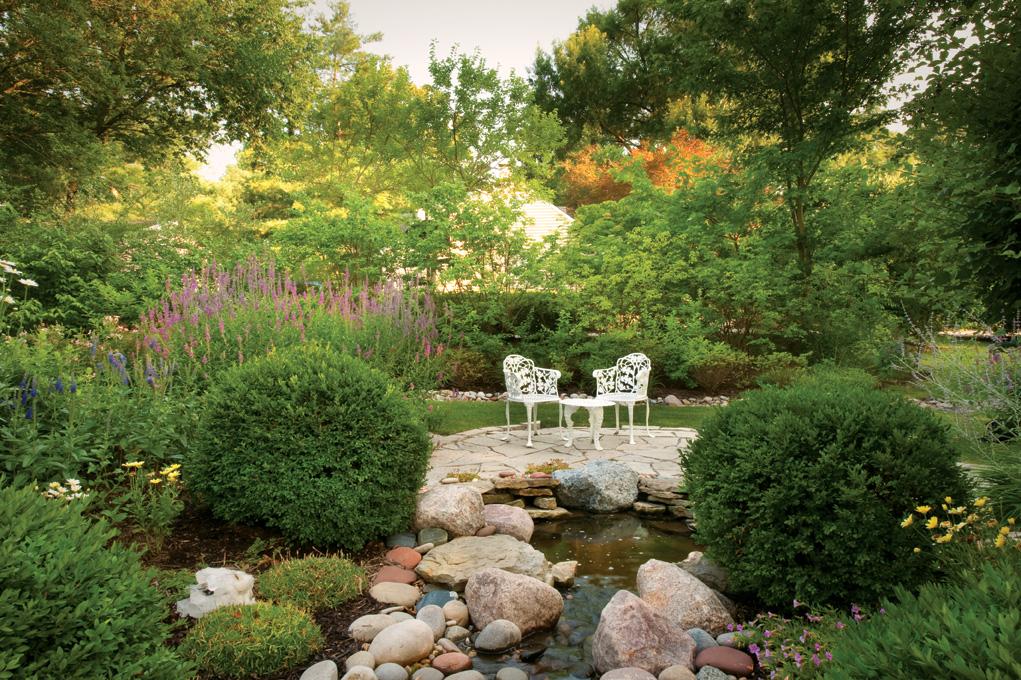 Un jard n ingl s plantas for Jardin romantico