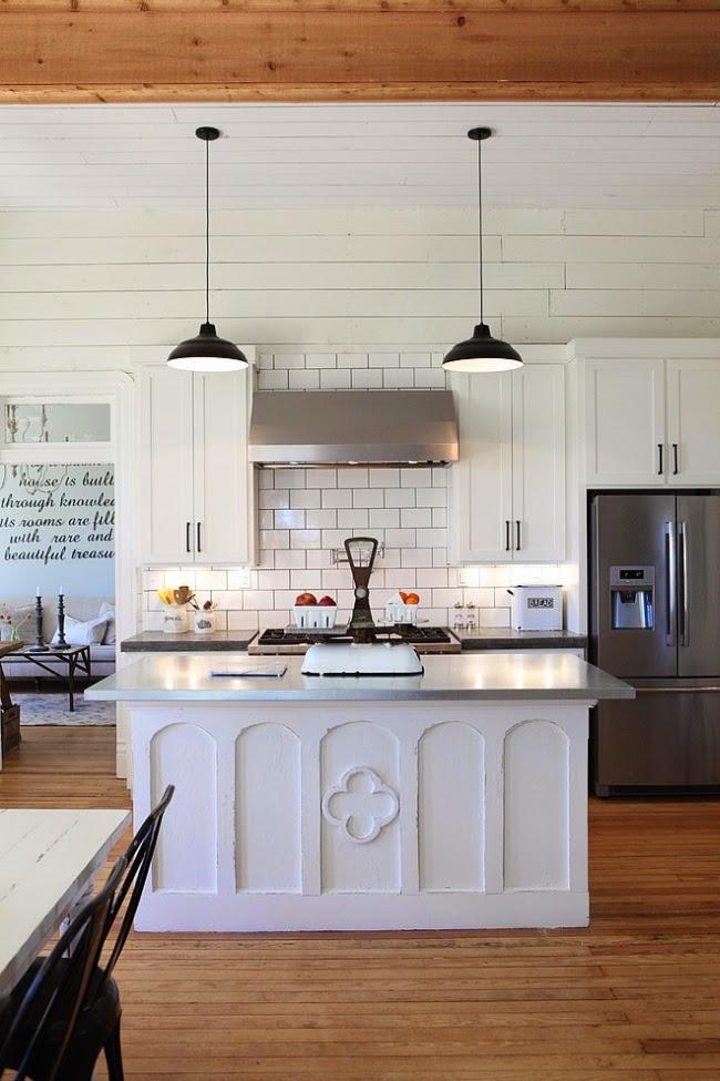 domek na wsi, domek wiejski, białe wnętrza, dom, wystrój wnętrz, kuchnia