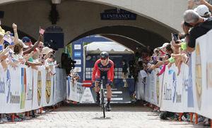 Bike race at Kings Dominion, Doswell, VA 9/23/15