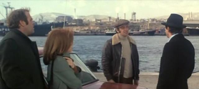 Le Casse (1971) Jean-Paul Belmondo - Omar Sharif