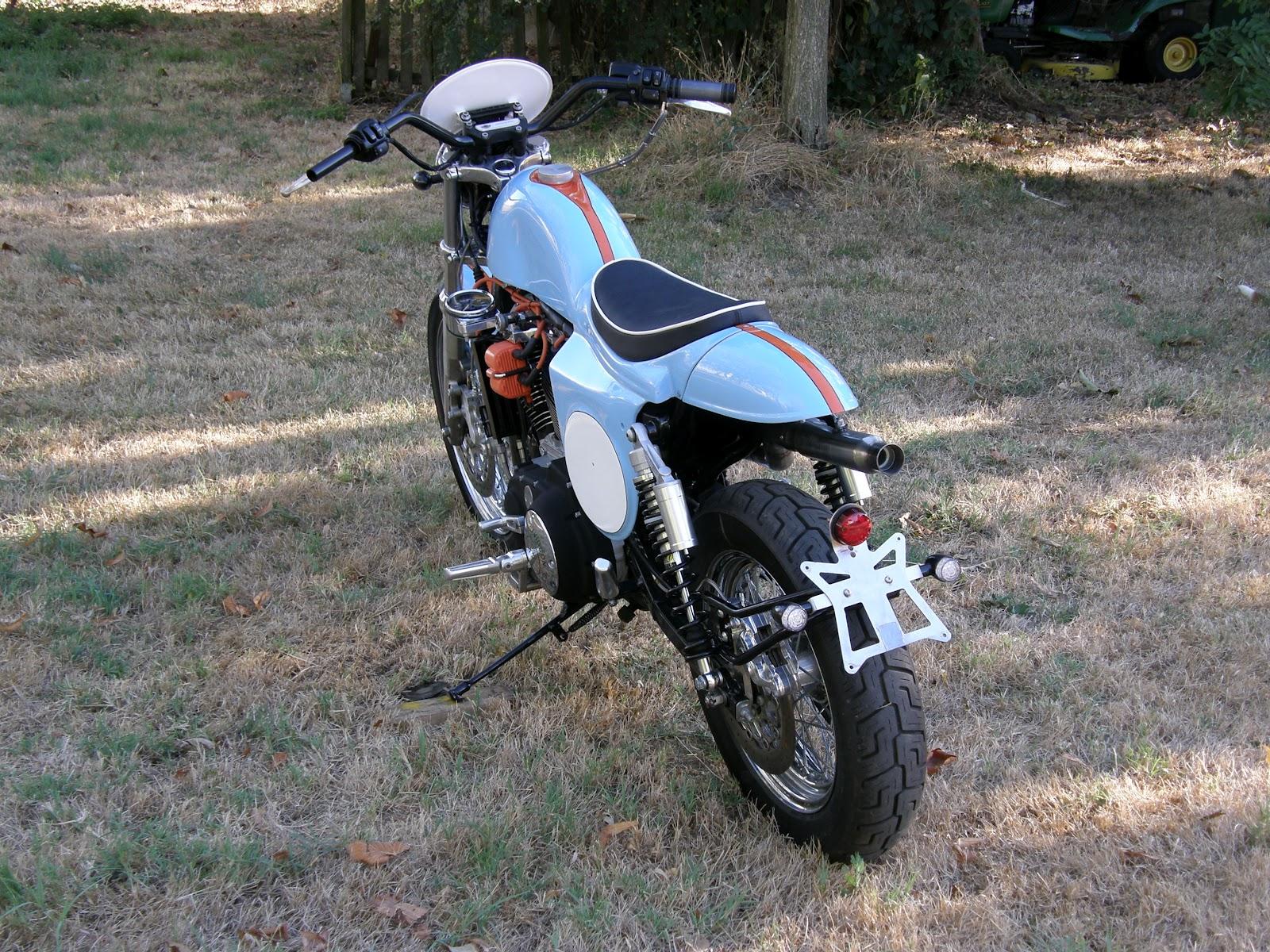 Racing Caf U00e8  Harley Xl 1200 Scrambler By Totti Motori