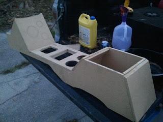 csc motors building a custom center console. Black Bedroom Furniture Sets. Home Design Ideas