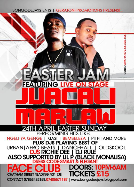 marlaw bongo featuring jua cali genge perfoming live on same stage
