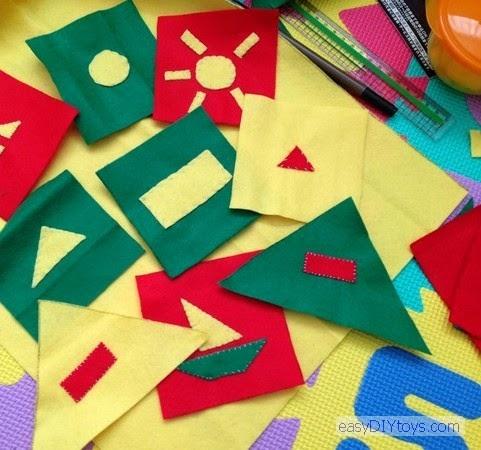 Handmade toys for the newborn – The rustling bag