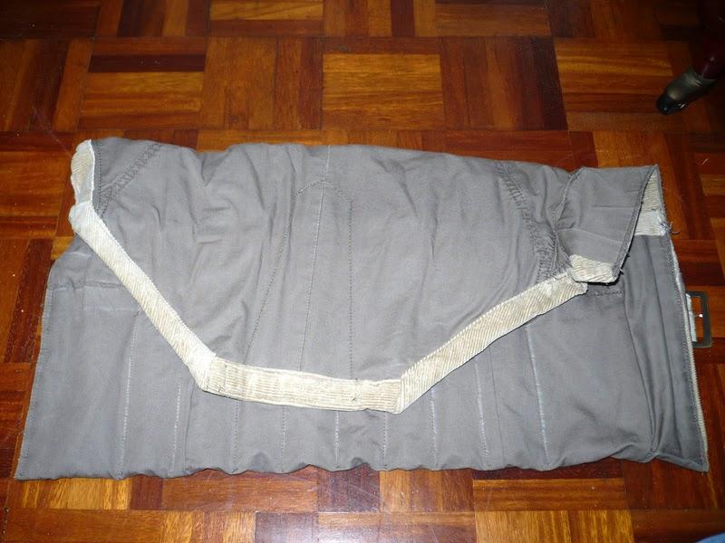 Como hacer una manta para formones, con tela reciclada reciclada.