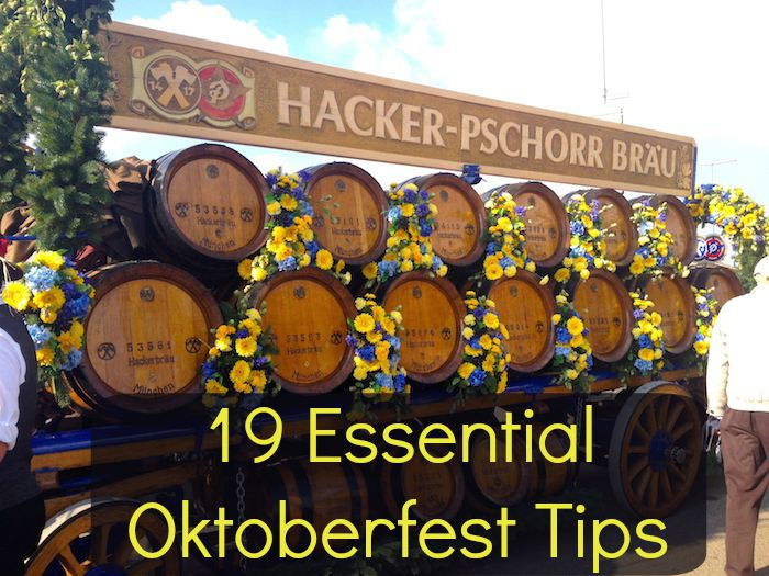Your guide to celebrating Oktoberfest in Munich!