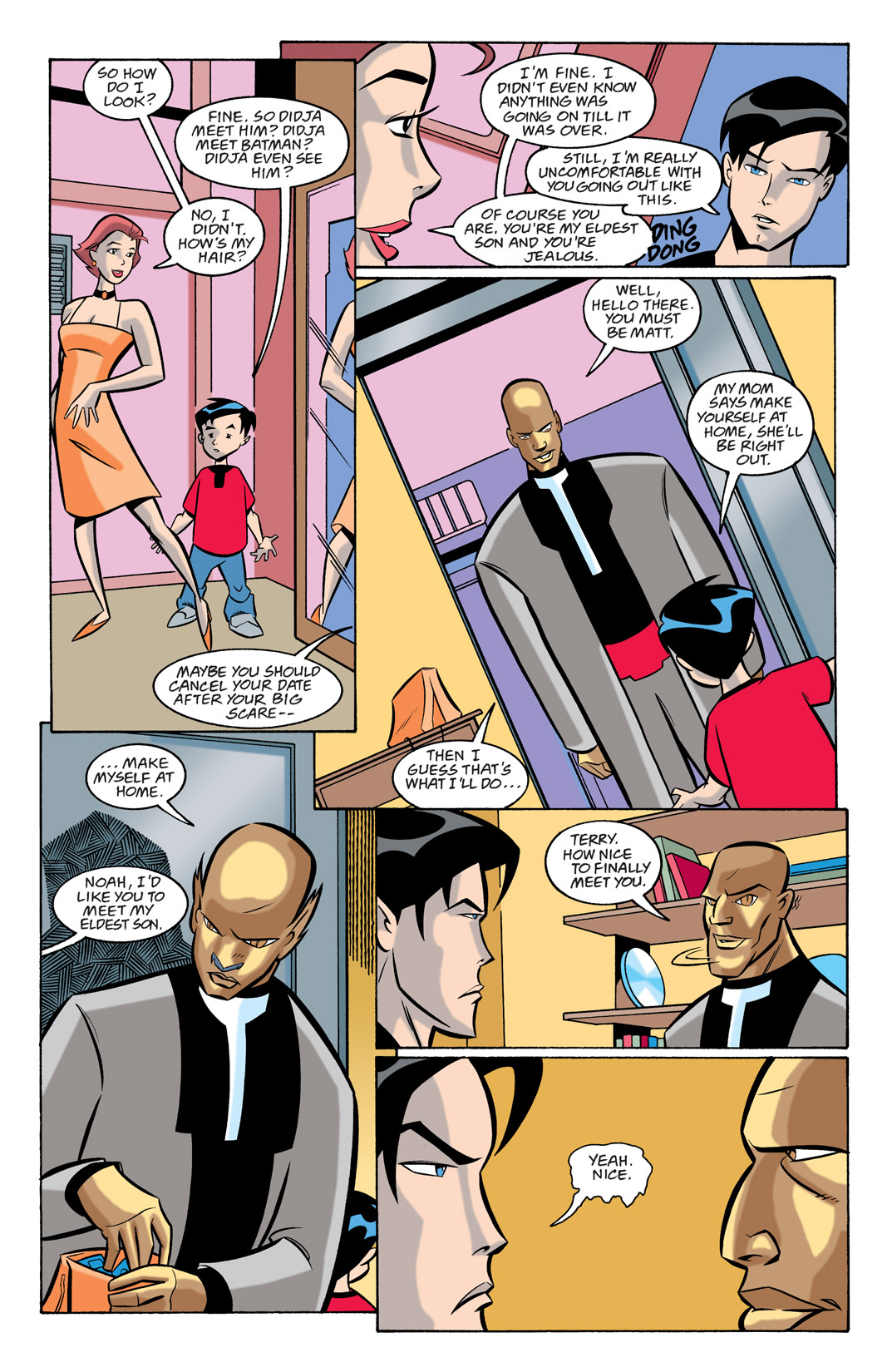 Batman Beyond [II] Issue #24 #24 - English 9