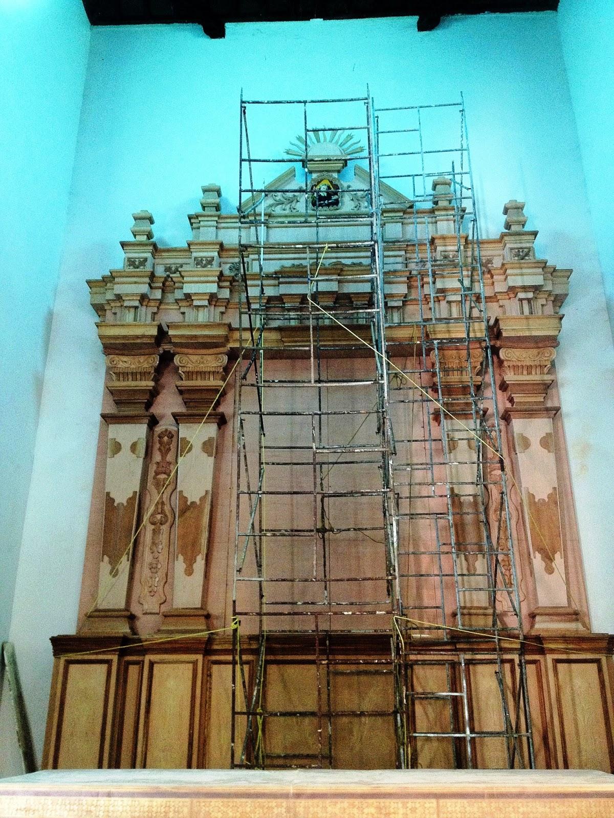 Retablo mayor conjunto de la iglesia de ocumare del tuy for Arquitectura sacro