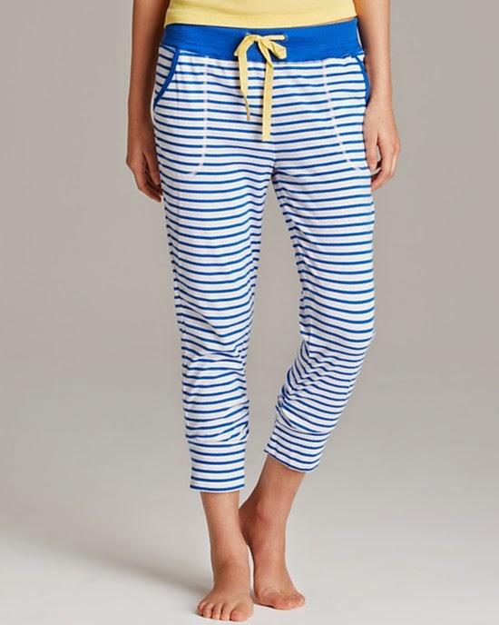 Jane & Bleecker nautical pajamas and loungewear
