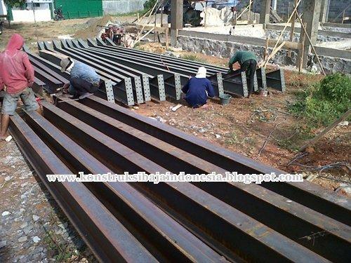 pekerjaan konstruksi baja