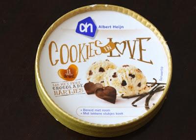 Albert Heijn Cookies in love