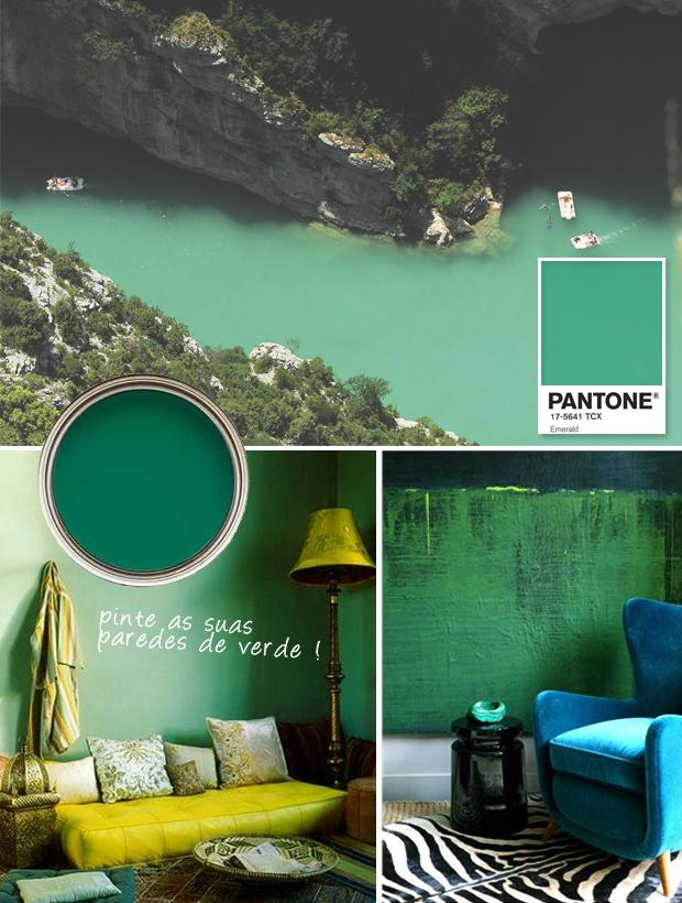 Lançamento Pantone Emerald