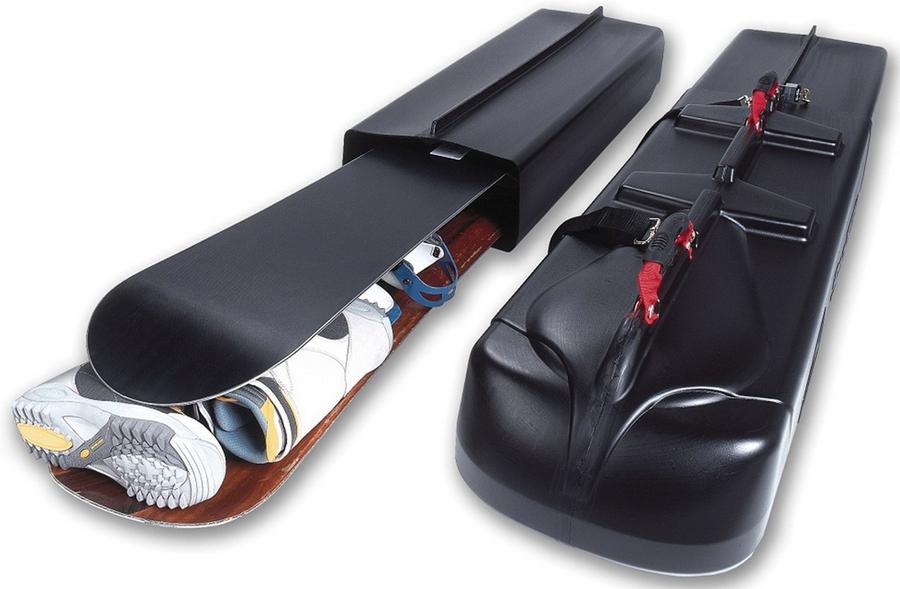 hard plastic snowboard travel bag