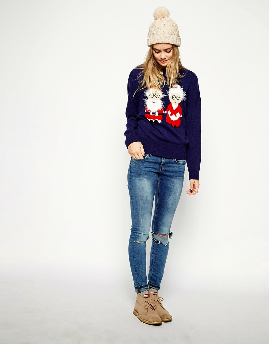 mr and mrs claus jumper,