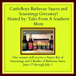 CattleBoyz Barbecue Sauce Giveaway