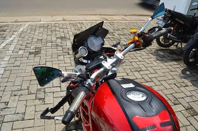 Yamaha Vixion Streetfighter 2013