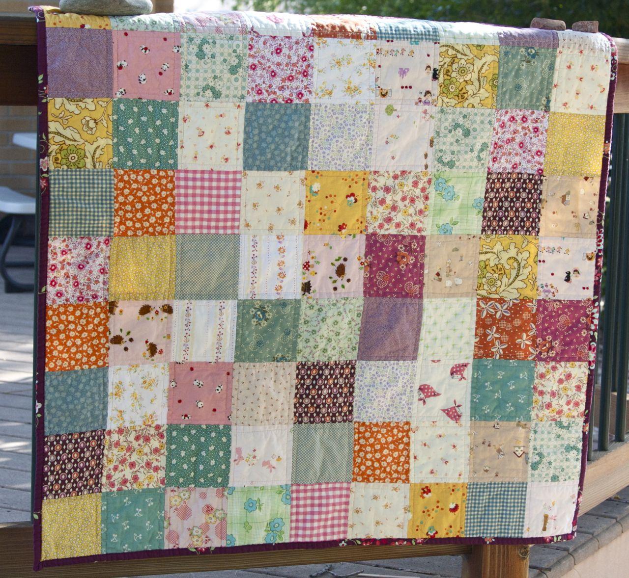A Quilt Is Nice Flower Garden