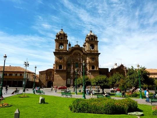 Iglesia de la Compania de Jezus Plaza de Armas in Cusco